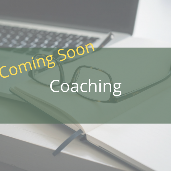 Coaching coming soon