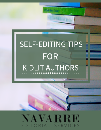 Self-Editing Tips for Kidlit Authors