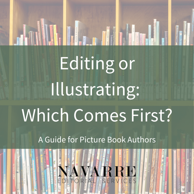 Editing or Illustrating: Which Comes First?
