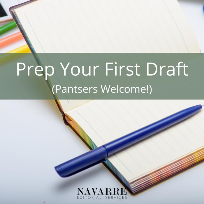 Prep Your First Draft